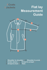 Kingspier Vintage - Measurement guide for coats and jackets