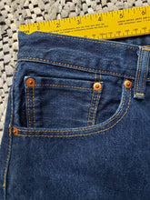 "Load image into Gallery viewer, (SOLD) Levi's 501 - 40""x32"" altered to 29"" inseam_ red tab"