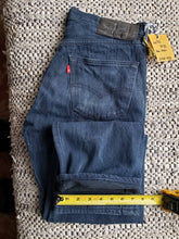 "Load image into Gallery viewer, Levi's 501xx - 32""x32"" hemmed at 29 1/2"" red tab"