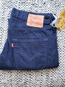 "Levi's 501 - 33""x32"" Limited Edition. Multicoloured buttons & red tab"