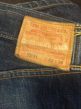 "Load image into Gallery viewer, Levi's 501xx - 32""x38"" red tab"