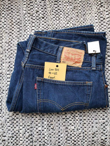 "(SOLD) Levi's 501 - 40""x32"" altered to 29"" inseam_ red tab"
