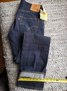 "(SOLD) Levi's 501xx - 32""x38"" red tab"