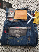 "Load image into Gallery viewer, (SOLD) Levi's 501 S - 31""x32"" NWT Skinny red tab"