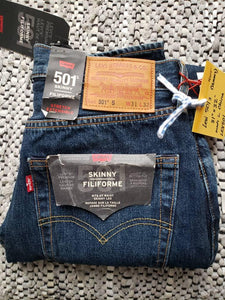 "(SOLD) Levi's 501 S - 31""x32"" NWT Skinny red tab"