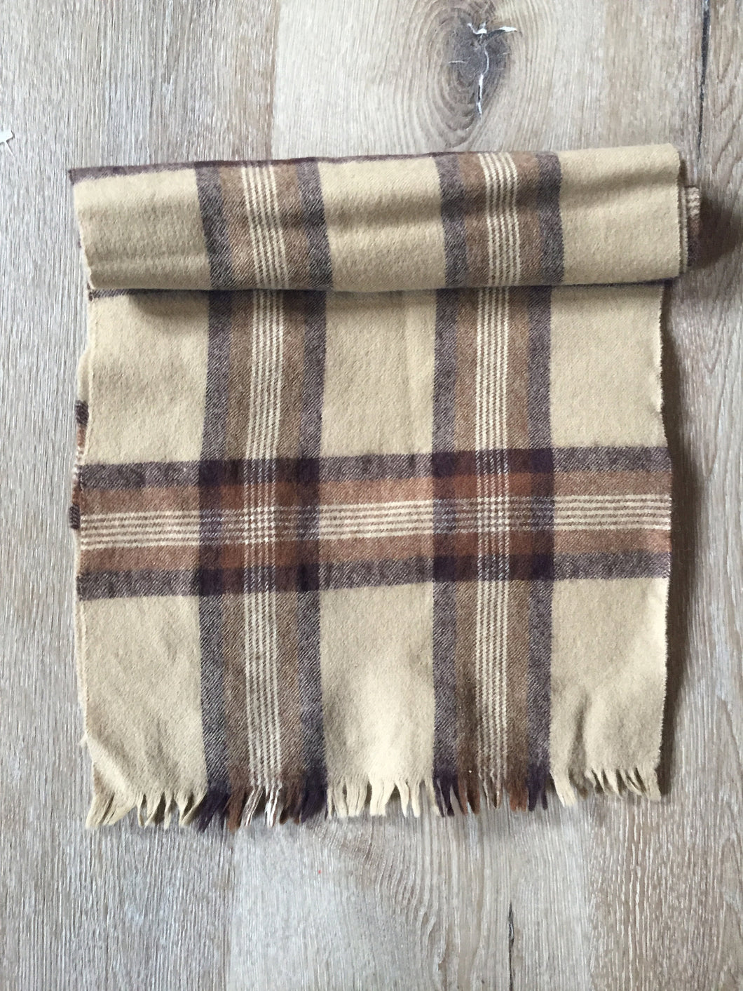 Vintage Tip Top wool scarf
