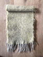 Load image into Gallery viewer, Handwoven mohair scarf