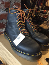 Load image into Gallery viewer, Kingspier Vintage - <p>Black Doc Martens 1460, eight eyelet. <br> Made in England <br> Size US M 9<br> Excellent condition! As new.</p>
