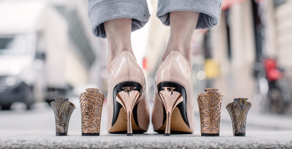 Shoes with Removable Heels | Tanya Heath Canada