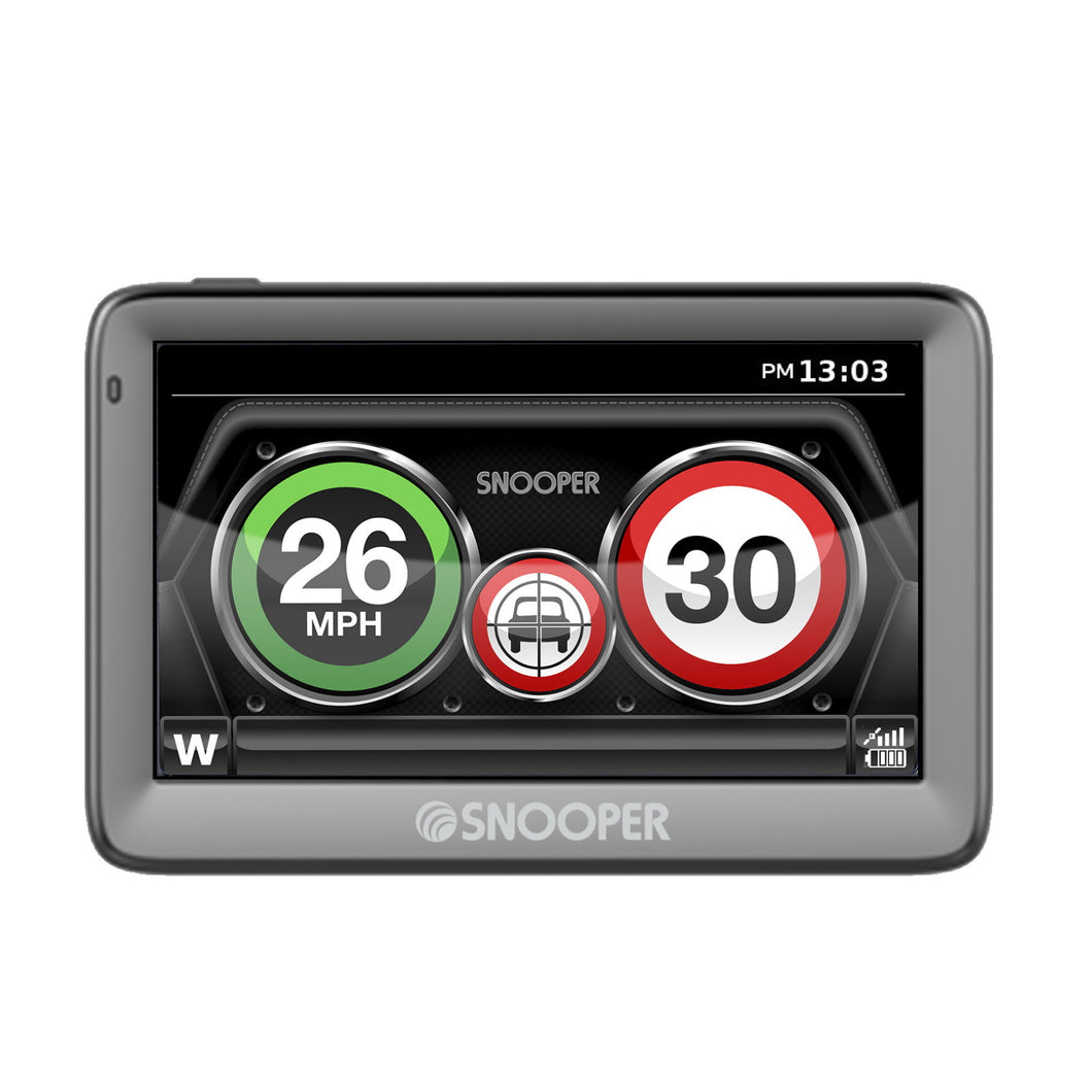 Snooper My-Speed XL G2. Speed limits and Speed camera alerts