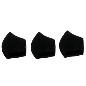 3 Pack SportsFlex Masks - Black