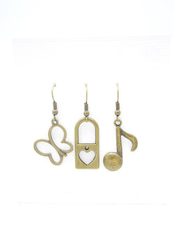 Beauty Faithful Trio Earrings