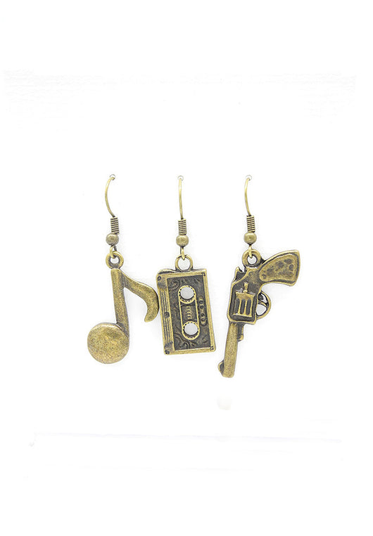 Gamer Trio Earrings