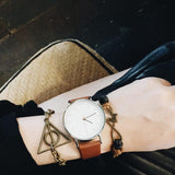 Deathly Hallows Solid Brass Premium Charm Bracelet