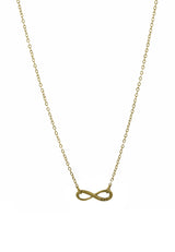 Simple BFF Infinity Friendship Short Necklace