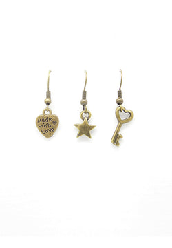 Mini Joyful Trio Earrings