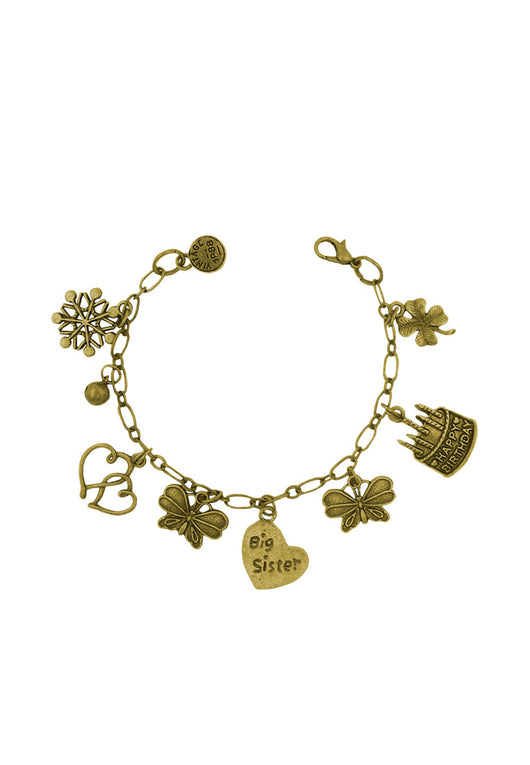 Big Sister's Birthday Charm Bracelet