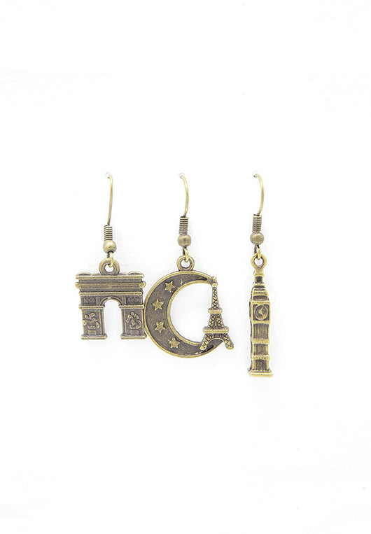Dream On, Travellers Trio Earrings