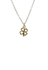 Four-leaf Clover Short Necklace