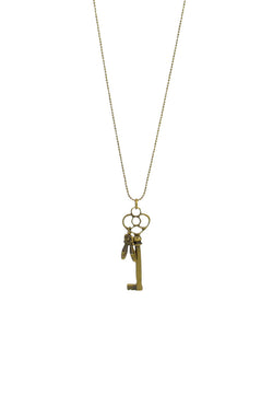 Key to your Passion Long Necklace