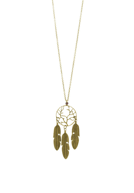 Vintage1988 Inspired Dreamcatcher Long Necklace