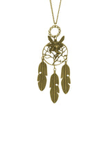 Wonder Fairy Dreamcatcher Long Necklace