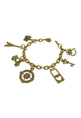Sunny Good Day in Paris Charm Bracelet