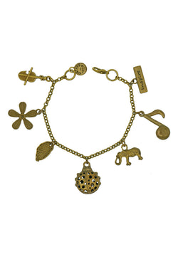 Little Paradise of Ladybug Charm Bracelet