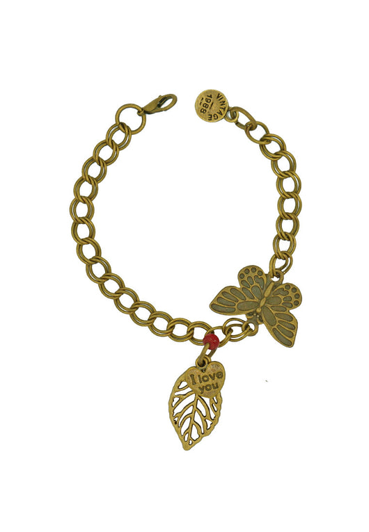 The Luminous Butterfly Charm Bracelet
