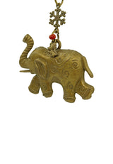 By Your Side Elephant and Mouse Collectible Keychain/ Bagholder