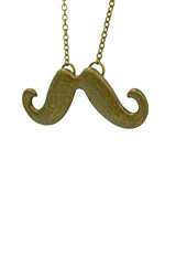 Moustache Love(Big) Long Necklace
