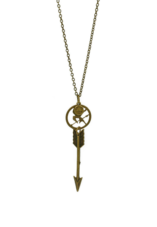 The Hunger Games/ Catching Fire Mockingjay Unisex Long Necklace