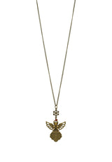 Lucky Angel Long Necklace
