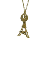 Paris Heart Princessy Short Necklace