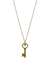 Classical Key Short Necklace
