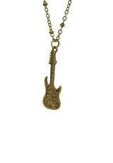Freedom Guitar Short Necklace
