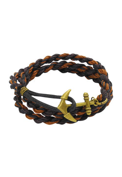 Signature Anchor Wrap Unisex in Brown House