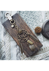 Namaste Hippie Dreamcatcher Collectible Keychain/ Bagholder