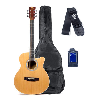 Care2Rock Acoustic Guitar Starter Bundle