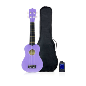 Care2Rock Soprano Ukulele - Purple