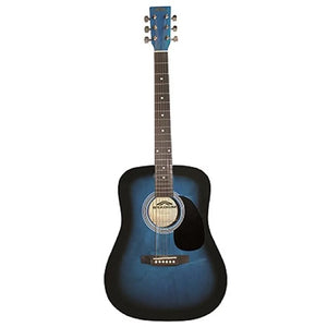 Stadium Acoustic Guitar - Blue Burst