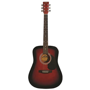 Stadium Acoustic Guitar - Redburst