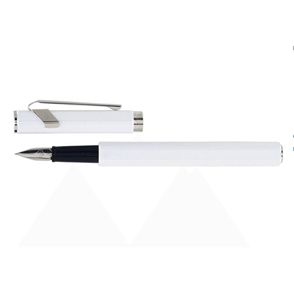 Caran d'Ache 849 Fountain Pen White Nib EF - GoldenGenie