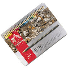 Load image into Gallery viewer, Caran D'ache Pablo Colored Pencil Set of 30 (666.330) - GoldenGenie