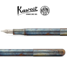 Load image into Gallery viewer, Kaweco Liliput fountain pen Fireblue Nib: BB - GoldenGenie
