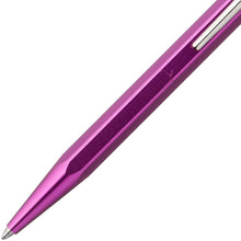 Load image into Gallery viewer, Caran D'ache Metal-X Ballpoint Pen - Violet (849.3500) - GoldenGenie