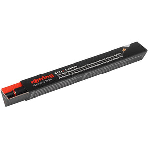 rOtring 1900181 800+ Mechanical Pencil and Touchscreen Stylus, 0.5 mm, Black Barrel