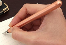 Load image into Gallery viewer, Kaweco Liliput fountain pen copper Nib: M - GoldenGenie
