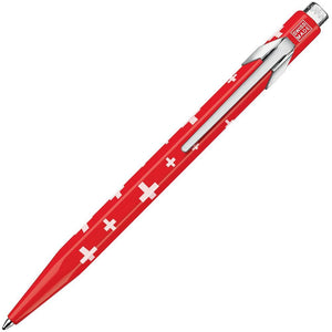 Caran D'ache Essentially Swiss Collection Ballpoint Pen Swiss Flag (849.253) Caran d'Ache