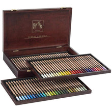 Load image into Gallery viewer, Caran D'ache Set of 84 Pastel Pencils In A Wood Box (788.484) Caran d'Ache